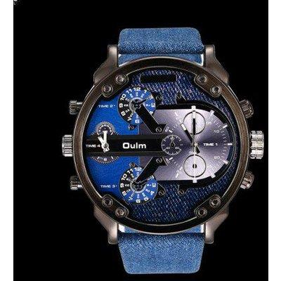Big Dial Plate Quartz Wrist Watch