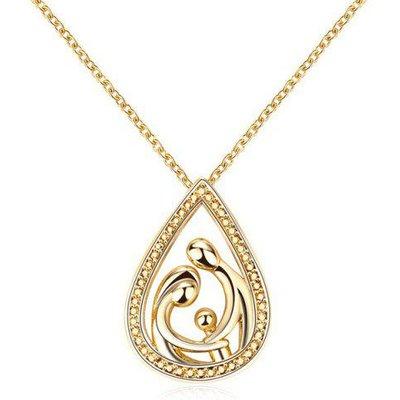 Teardrop Family Pendant Necklace