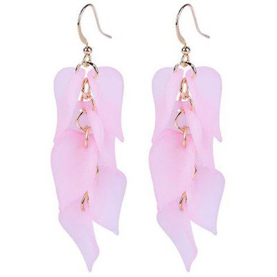Petals Design Hook Earrings