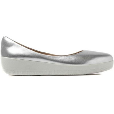 Grey Fitflop C10011 Superballerina  Silver
