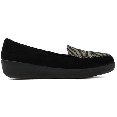 Black Fitflop H79156 Sneakerloafer  Black