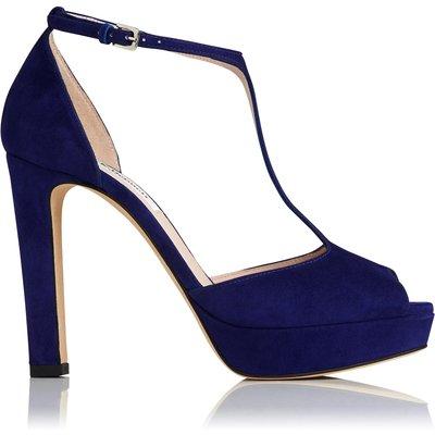 Baileigh Ultra Violet Suede Sandals