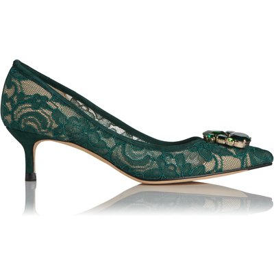 Juliet Green Lace Courts