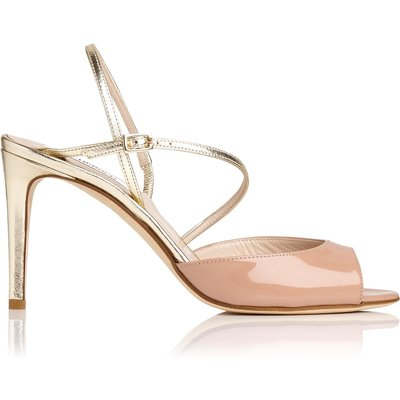 Camilla Fawn Leather Formal Sandals