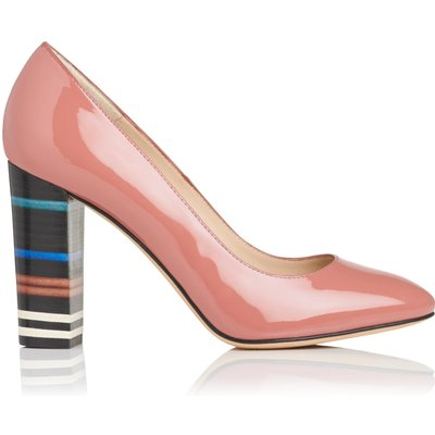 Marlowe Pink Patent Closed Courts