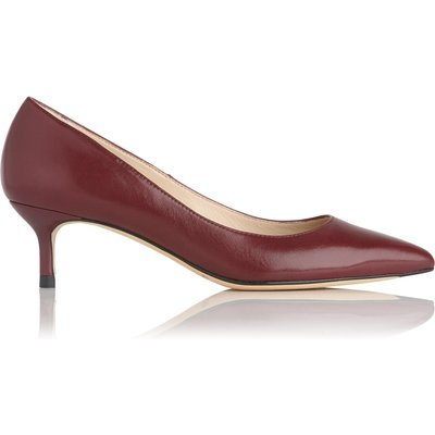 Audrey Oxblood Leather Courts