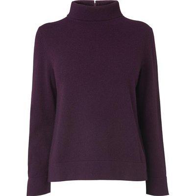 Karmi Purple Wool Jumper