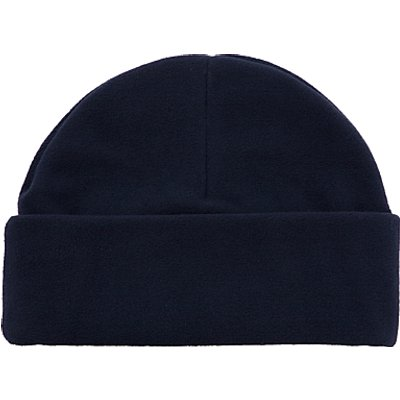 School Fleece Hat, Navy