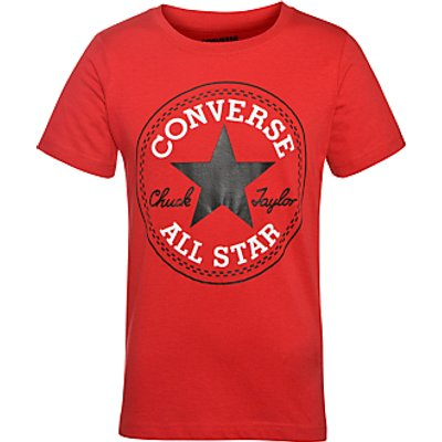 009328286653 | Converse Boys  Chuck Patch T Shirt  Red Store