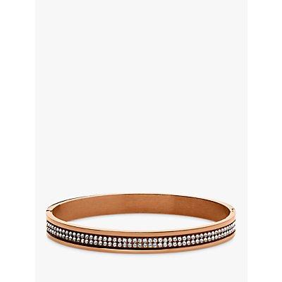 Dyrberg/Kern Lorbel Rose Gold Plated Swarovski Crystal Bracelet