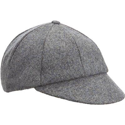 School Plain Cap, Grey