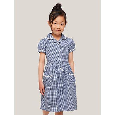 John Lewis Gingham Cotton School Summer Dress