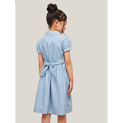 John Lewis Gingham Cotton School Summer Dress