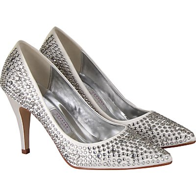 Rainbow Couture Antonia Court Shoes, Ivory