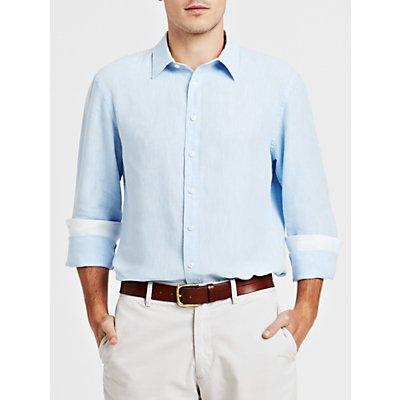 Thomas Pink Malcolm Long Sleeve Linen Shirt