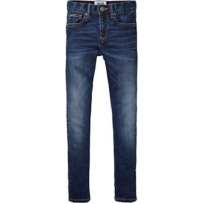 Tommy Hilfiger Boys' Scanton Slim Fit Jeans, Indigo