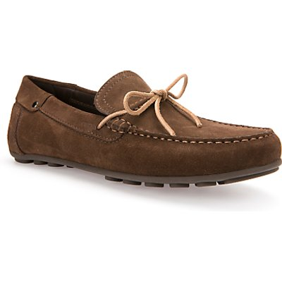 Geox Giona Suede Driving Shoes