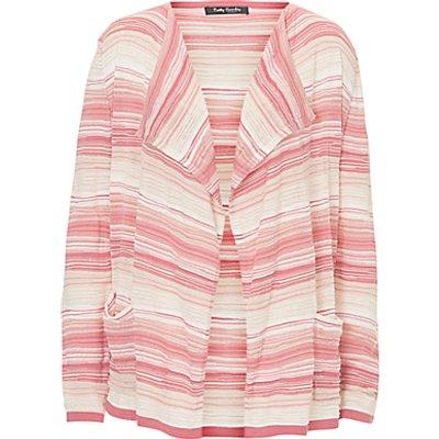 Betty Barclay Candy Stripe Cardigan  Pink Beige - 4026318172082
