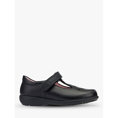 Start-rite Children's Daisy May Leather Shoes, Black
