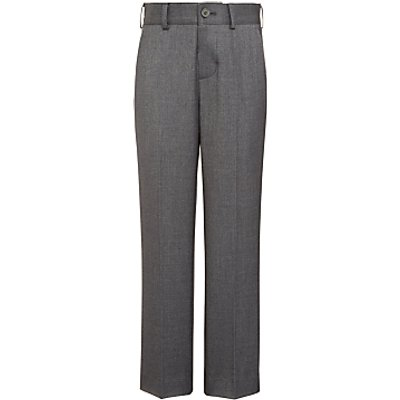John Lewis Heirloom Collection Boys' Suit Trousers, Grey