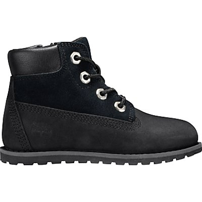 Timberland Children's Pokey Pine Boots, Black