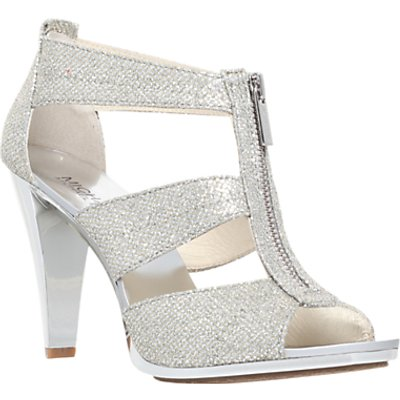 MICHAEL Michael Kors Berkley Zip Front High Heel Sandals