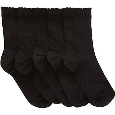 John Lewis Children's Socks, Pack of 5