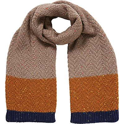 John Lewis Children's Neppy Block Stripe Scarf, Multi