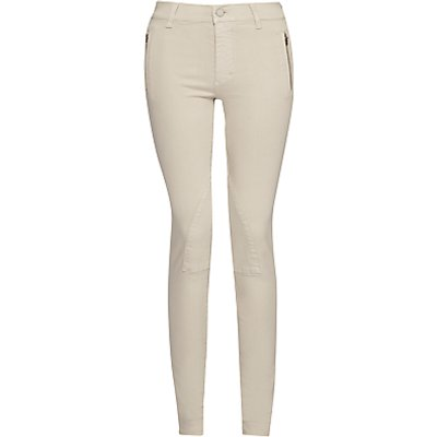 French Connection Rebound Skinny Jodhpur Trousers, Silver Stone