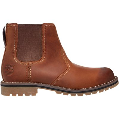 Timberland Larchmont Leather Chelsea Boot  Medium Brown - 888658157891