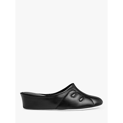 John Lewis Tricia Leather Mule Slippers