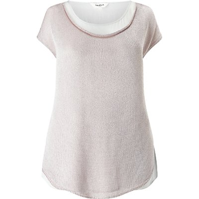 Studio 8 Rhian Knitted Top, Pink