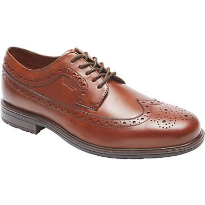 Rockport Essential Details 2 Apron Toe Brogues, Tan