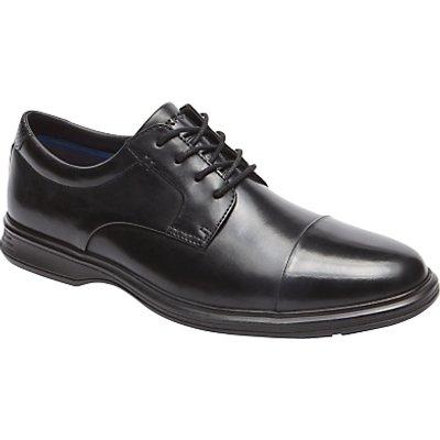 Rockport Dressports 2 Toe Cap Shoes, Black