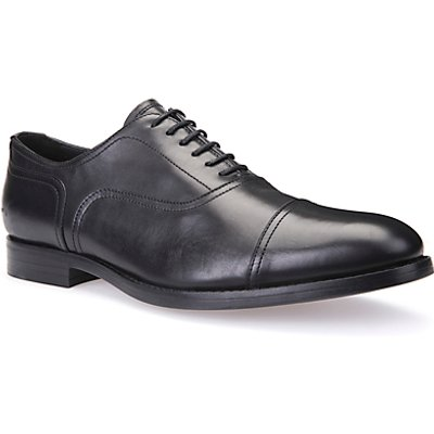 Geox Hampstead Oxford Shoes, Black
