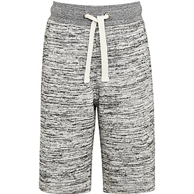 John Lewis Boys' Sweat Jogger Shorts, Grey
