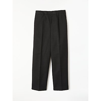 John Lewis Boys' Regular Fit Easy Care School Trousers