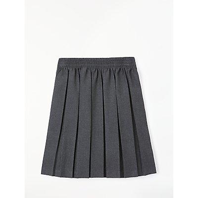 John Lewis Girls' Pleated School Skirt