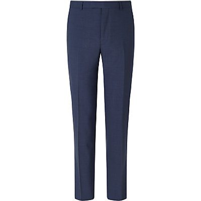 23083424 | Daniel Hechter Textured Marl Tailored Fit Suit Trousers  Blue Store