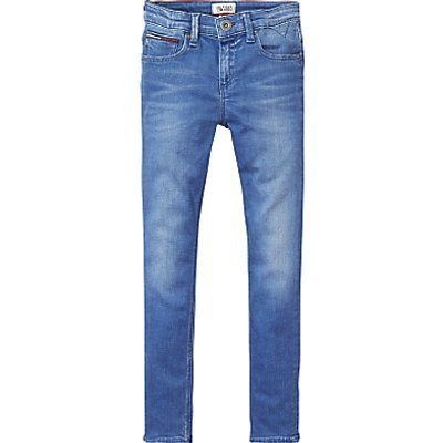 Tommy Hilfiger Boys' Scanton Slim Jeans, Blue Denim