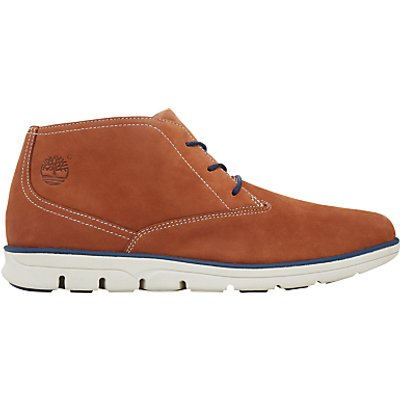 Timberland Bradstreet Lace-Up Leather Chukka Boots, Rust