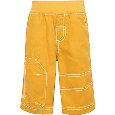 John Lewis Boys' Pull on Shorts, Yellow