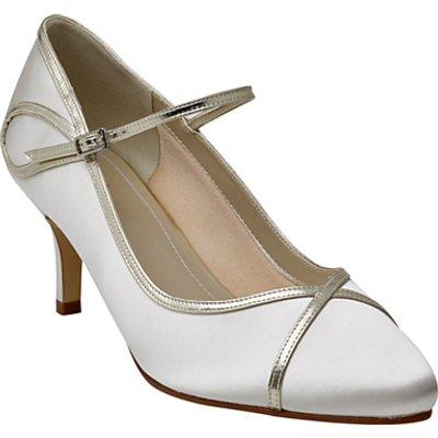Rainbow Club Dorothy Mary Jane Court Shoes, Ivory