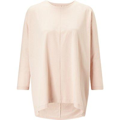 Kin by John Lewis Oversized Long Sleeve T-Shirt, Pink
