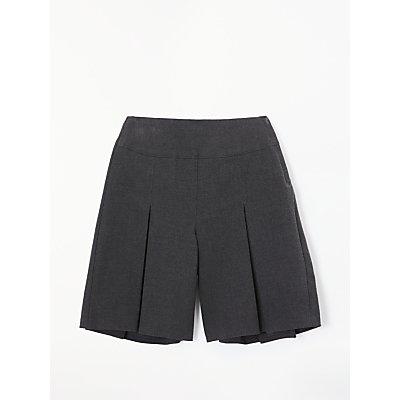 John Lewis Girls' Adjustable Waist School Culottes