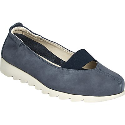 John Lewis Designed for Comfort Halia Pumps, Navy