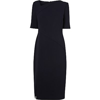 L.K. Bennett Saskia Seam Detail Dress, Sloane Blue