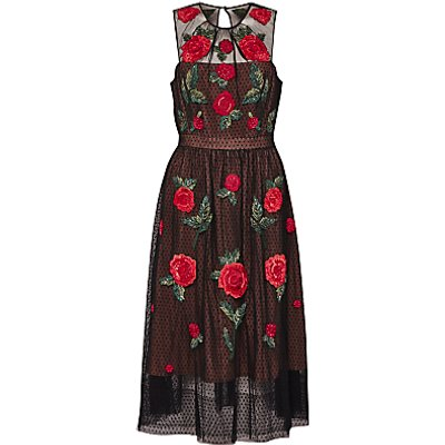 French Connection Amore Sparkle Dress, Multi
