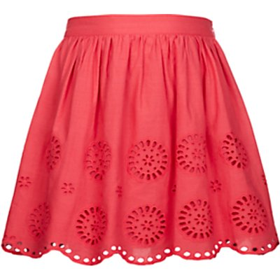 John Lewis Girls' Broderie Skirt