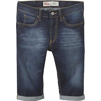 Levi's Boys' 511 Slim Fit Bermuda Shorts, Indigo